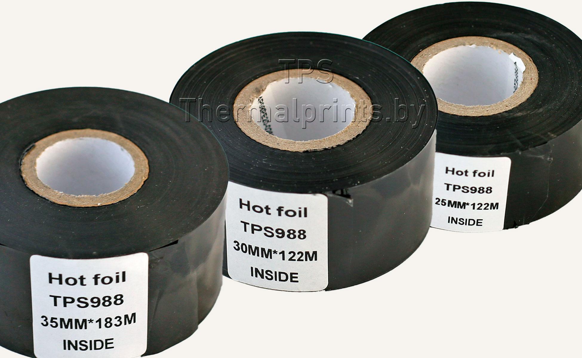 Датерная лента (фольга горячего тиснения) для термотрансферной печати